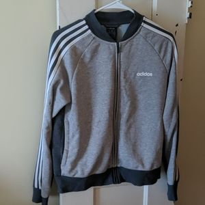 Front zip sweatshirt